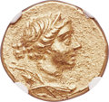 Ancients:Greek, Ancients: IONIA. Magnesia ad Meandrum. Ca. 155-145 BC. AV stater (19mm, 8.33 gm, 12h). NGC Choice AU 5/5 - 4/5....