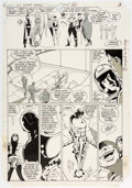 Original Comic Art:Panel Pages, Keith Giffen and Larry Mahlstedt Legion of Super-Heroes #304 Story Page 3 Original Art (DC, 1983)....