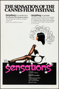 """Sensations & Other Lot (Pic America, 1975). Folded, Very Fine+. One Sheets (2) (27"""" X 41"""" & 27"""" X..."""