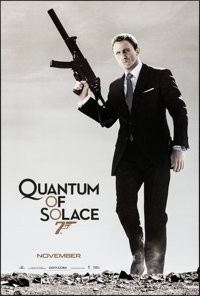 """Quantum of Solace (MGM, 2008). Rolled, Very Fine+. One Sheet (26.75"""" X 39.75"""") SS, Advance. James Bond"""