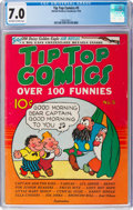 Platinum Age (1897-1937):Miscellaneous, Tip Top Comics #5 (United Feature Syndicate, 1936) CGC FN/VF 7.0Off-white to white pages....
