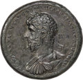 Ancients:Roman Imperial, Ancients: Lucius Verus (AD 161-169). AE medallion (40mm, 48.02 gm,11h). XF, tooled....