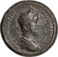 Ancients:Roman Imperial, Commodus (AD 177-192). AE medallion (40mm, 69.60 gm, 12h)....