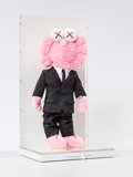 Collectible:Contemporary, KAWS X Dior. BFF Companion (Pink), 2019. Polyester plush in Dior suit. 17 x 7-1/2 inches (43.2 x 19.1 cm). Ed. 154/500. ...