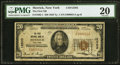 National Bank Notes:New York, Merrick, NY - $20 1929 Ty. 1 The First NB Ch. # 12503 PMG Very Fine 20.. ...