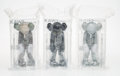 Collectible:Contemporary, KAWS (b. 1974). Small Lie, set of three, 2017. Painted cast vinyl. 11 x 5 x 4-1/2 inches (27.9 x 12.7 x 11.4 cm) (each)... (Total: 3 Items)