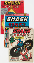 Golden Age (1938-1955):Superhero, Smash Comics Group (Quality, 1939-47) Condition: Average GD/VG.... (Total: 7 Comic Books)