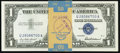 Small Size:Silver Certificates, Fr. 1619 $1 1957 Silver Certificates. 50 Consecutive Examples. Choice Crisp Uncirculated or Better.. ...