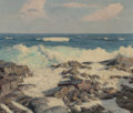 Paintings:Contemporary   (1950 to present), Walter Brightwell (American, 1919-2005). Rough Waters. Oil on canvas. 16 x 20 inches (40.6 x 50.8 cm). Signed lower righ...