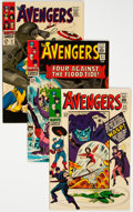 Silver Age (1956-1969):Superhero, The Avengers Group of 7 (Marvel, 1966-69) Condition: Average VF/NM.... (Total: 7 Comic Books)