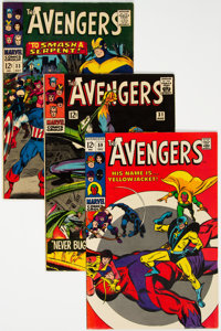 The Avengers Group of 8 (Marvel, 1966-69) Condition: Average VF.... (Total: 8 Comic Books)