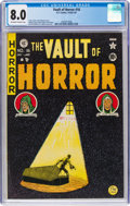Golden Age (1938-1955):Horror, Vault of Horror #16 (EC, 1950) CGC VF 8.0 Off-white to white pages....