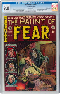 Haunt of Fear #26 Gaines File Pedigree 12/12 (EC, 1954) CGC VF/NM 9.0 White pages
