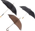 Luxury Accessories:Accessories, Set of Three: Alexander McQueen & Louis Vuitton Umbrellas. Condition: 1. See Extended Condition Report for Sizes...... (Total: 3 Items)