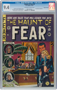 Haunt of Fear #6 Gaines File Pedigree (EC, 1951) CGC NM 9.4 Off-white to white pages