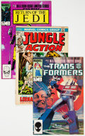 Modern Age (1980-Present):Miscellaneous, Marvel Bronze and Modern Age Comics Box Lot (Marvel, 1980s) Condition: Average VG....