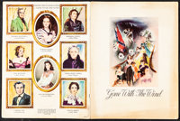 """Gone with the Wind (MGM, 1939). Fine/Very Fine. Souvenir Program (20 Pages, 9"""" X 12"""") Southern Edition. Academ..."""