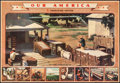 "Movie Posters:Miscellaneous, Our America (Coca-Cola Bottling Company, 1943). Folded, Very Fine-. Teacher's Kit Chart Set of 4 (22"" X 32"") Cotton. Miscell... (Total: 4 Items)"