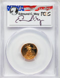 Modern Bullion Coins, 2015-W $5 Tenth-Ounce Gold Eagle, First Day of Issue - Washington DC, Moy Signature PR70 Deep Cameo PCGS. PCGS Population: ...
