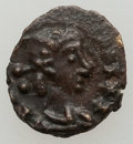 Ancients:Roman Imperial, Ancients: VANDALS. Pseudo-Imperial coinage. Ca. AD 440-490. AEnummus (9mm, 0.40 gm, 6h). XF. ...