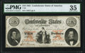 Confederate Notes:1861 Issues, Fully Framed T26 $10 1861 PF-20 Cr. 193 PMG Choice Very Fine 35.. ...