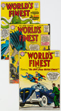 Silver Age (1956-1969):Superhero, World's Finest Comics Group of 5 (DC, 1955-60) Condition: ...