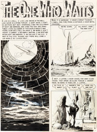 "Al Williamson, Frank Frazetta, and Roy Krenkel Weird Science #19 Complete 7-Page Story ""The One Who Waits"" Ori..."