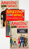 Silver Age (1956-1969):Science Fiction, Amazing Adult Fantasy #7, 8, and 12 Group (Marvel, 1961-62).... (Total: 3 Comic Books)
