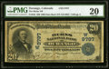 National Bank Notes:Colorado, Durango, CO - $20 1902 Date Back Fr. 645 The Burns NB Ch. # (W)9797 PMG Very Fine 20.. ...