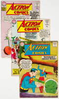 Silver Age (1956-1969):Superhero, Action Comics Group of 24 (DC, 1958-73) Condition: Average VG-.... (Total: 24 Comic Books)