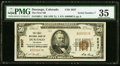 National Bank Notes:Colorado, Durango, CO - $50 1929 Ty. 1 The First NB Ch. # 2637 PMG Choice Very Fine 35.. ...