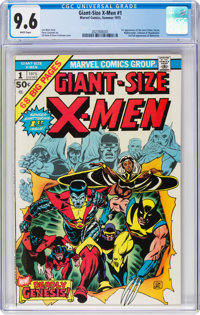 Giant-Size X-Men #1 (Marvel, 1975) CGC NM+ 9.6 White pages