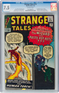 Silver Age (1956-1969):Superhero, Strange Tales #110 (Marvel, 1963) CGC VF- 7.5 Off-white pages....
