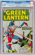 Silver Age (1956-1969):Superhero, Green Lantern #1 (DC, 1960) CGC VG/FN 5.0 Cream to off-white pages....