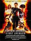 """Movie Posters:Action, Captain America: The First Avenger (Paramount, 2011). Folded, Very Fine+. French Grande (46.5"""" X 62"""") 3-D Style. Action.. ..."""