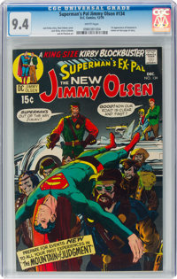 Superman's Pal Jimmy Olsen #134 (DC, 1970) CGC NM 9.4 White pages