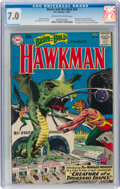 Silver Age (1956-1969):Superhero, The Brave and the Bold #34 Hawkman (DC, 1961) CGC FN/VF 7.0 Off-white to white pages....