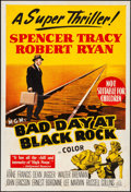 "Movie Posters:Thriller, Bad Day at Black Rock (MGM, 1955). Folded, Fine/Very Fine. Australian One Sheet (27"" X 40""). Thriller.. ..."