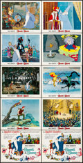 """Movie Posters:Animation, The Sword in the Stone (Buena Vista, 1963). Very Fine. Lobby Card Set of 9 & Title Lobby Card (11"""" X 14"""") with Original Stud... (Total: 11 Items)"""
