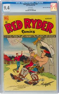 Red Ryder Comics #61 Mile High Pedigree (Dell, 1948) CGC NM 9.4 White pages
