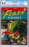 Golden Age (1938-1955):Superhero, Flash Comics #86 (DC, 1947) CGC FN+ 6.5 Off-white to white pages....