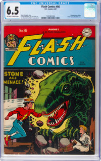 Flash Comics #86 (DC, 1947) CGC FN+ 6.5 Off-white to white pages