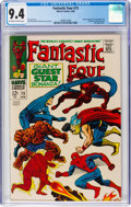 Silver Age (1956-1969):Superhero, Fantastic Four #73 (Marvel, 1968) CGC NM 9.4 Off-white to white pages....