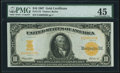 Large Size:Gold Certificates, Fr. 1172 $10 1907 Gold Certificate PMG Choice Extremely Fine 45.. ...
