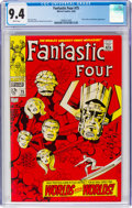 Silver Age (1956-1969):Superhero, Fantastic Four #75 (Marvel, 1968) CGC NM 9.4 White pages....