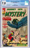 Silver Age (1956-1969):Superhero, Journey Into Mystery #101 (Marvel, 1964) CGC FN/VF 7.0 Off-white pages....