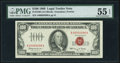 Fr. 1550 $100 1966 Legal Tender Note. PMG About Uncirculated 55 EPQ