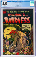 Golden Age (1938-1955):Horror, Adventures Into Darkness #7 (Standard, 1952) CGC FN- 5.5 White pages....