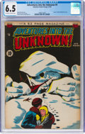 Golden Age (1938-1955):Horror, Adventures Into The Unknown #9 (ACG, 1950) CGC FN+ 6.5 Off-white to white pages....