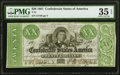 Confederate Notes:1861 Issues, T21 $20 1861 PF-1 Cr. 144 PMG Choice Very Fine 35 EPQ.. ...